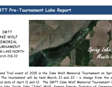 Spring Lake North Pre-Tournament Lake Report
