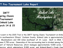 Kinkaid Pre-Tournament Lake Report