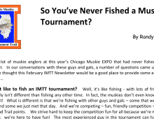 So You Never Fished A Muskie Tournament