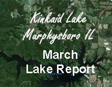 March Lake Report – Kinkaid Lake
